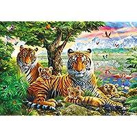 Buffalo Games - Hidden Tigers - 2000 Piece Jigsaw Puzzle