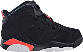 Jordan Kids' Preschool Air Retro 6 Basketball Shoes