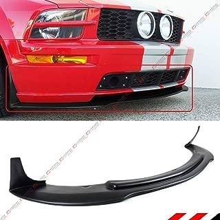 Fits for 2005-2009 Ford Mustang GT V8 CV 3 Style Front Bumper Lip Chin Spoiler Splitter