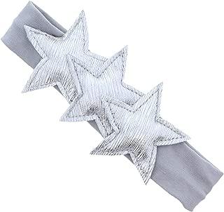 Classy Plush Metallic Stars Baby Headband