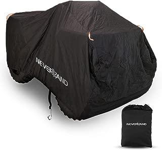 NOVSIGHT Quad Bike ATV Cover,  Water Resistant Dustproof Anti-UV Cover with Elastic Cord Sewn,  Reflective Stripes,  Durable Storage Bag XXL (86.61X38.58X41.73inch)