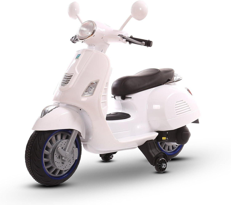 El nuevo outlet de marcas online. LT 858 Scooter eléctrico para Niños HAPPY doble velocidad monoplaza monoplaza monoplaza 6 12V (blancoo)  apresurado a ver