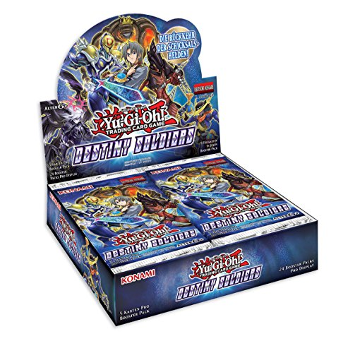 Yu Gi Oh 116718770001–Trading Card Game, Destiny Soldiers–Booster Display 24Packs