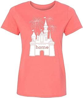 disney castle home t shirt