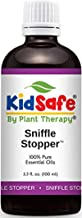 Plant Therapy KidSafe Sniffle Stopper Synergy Essential Oil Blend. Blend of: Fir Needle, Rosalina, Spruce, Cypress, Spearmint and Cedarwood Virginian. 100 mL (3. 3 Ounce).