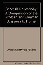 Scottish philosophy;: A comparison of the Scottish and German answers to Hume (Burt Franklin research & source works series)