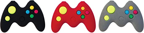 Raymond Geddes Game Controller Erasers For Kids (Pack of 24)