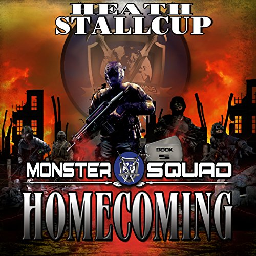 Homecoming     A Monster Squad Novel              By:                                                                                                                                 Heath Stallcup                               Narrated by:                                                                                                                                 Maxwell Zener                      Length: 12 hrs and 13 mins     40 ratings     Overall 4.2