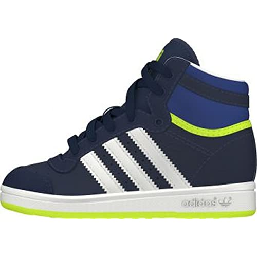 adidas Top Ten Hi, Baskets Basses Mixte Enfant: