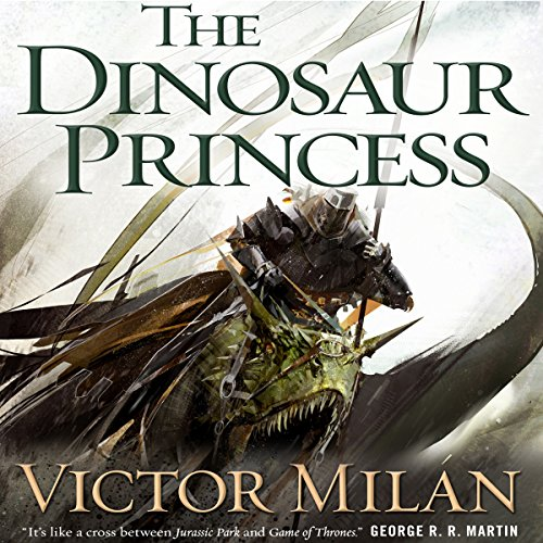The Dinosaur Princess audiobook cover art