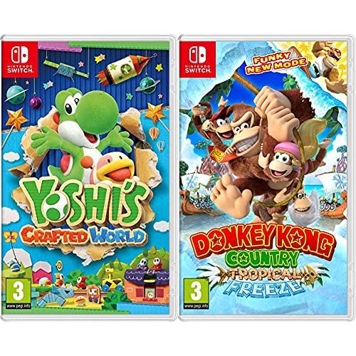 Nintendo Yoshi'S Crafted World + Donkey Kong Country: Tropical Freeze