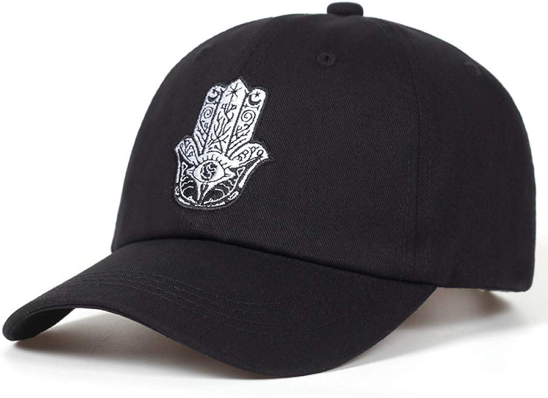 JINRMP Hamsa Dad Hats Baseball Cap Embroidered Adjustable Snapback Cotton Unisex Hip Hop Dad Hat Bone Garros