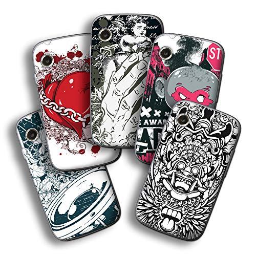atFolix Designfolie kompatibel mit Wiko Ozzy, wähle Dein Lieblings-Design aus, Skin Aufkleber (Verschiedene Designs)