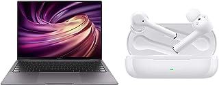 HUAWEI MateBook X Pro 14インチ Core i5 スペースグレー+ノイズキャンセリング完全ワイヤレスイヤホン FreeBuds 3i/セラミックホワイト【日本正規代理店品】