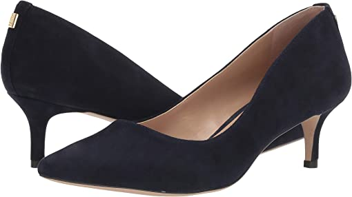 Lauren Navy Suede