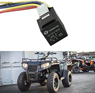 Motoparty 3 way Hight Low Beam Lights Headlight Relay Mod For Polaris Sportsman 90 300 355 400 450 500 550 570 600 700 800 850 Explorer Relay