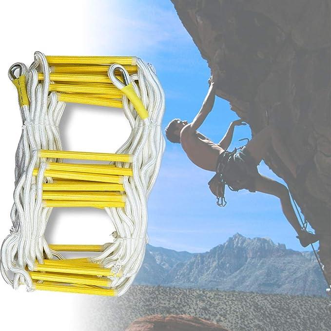 MAHFEI Escaleras De Evacuación, Escalera De Cuerda Escalera ...