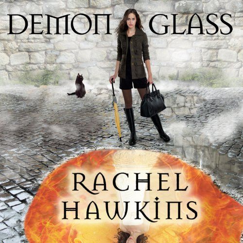 Demonglass audiobook cover art