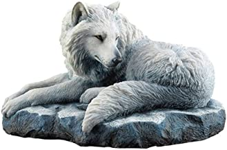 USVD Arctic Wolf Guardian of The North Lisa Parker Figurine 7.75