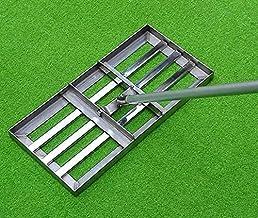 Yongqin Golf gazon nivellering hark golftuin gras, gazon nivellering hark-grondplaat, niveau bodem of vuil grondoppervlakk...
