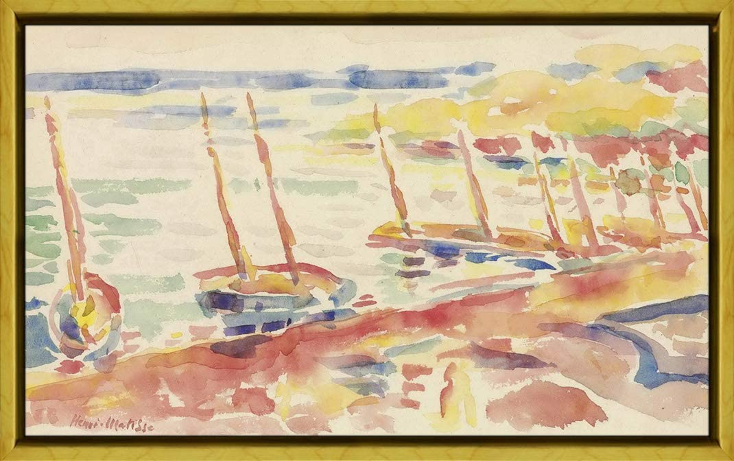 Berkin Arts Framed Henri Matisse Giclee Canvas Paintings Clearance SALE! Limited time! 70% OFF Outlet Print P