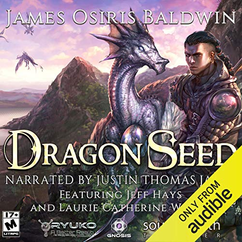 Dragon Seed     Archemi Online, Volume 1              By:                                                                                                                                 James Osiris Baldwin                               Narrated by:                                                                                                                                 Justin Thomas James,                                                                                        Jeff Hays,                                                                                        Laurie Catherine Winkel                      Length: 12 hrs and 38 mins     68 ratings     Overall 4.7