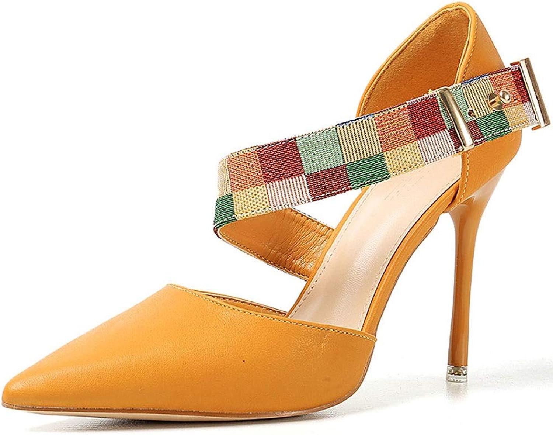 e0361d1abb MKJPO Sandalen Komfortable atmungsaktive Spitze Einzelschuhe Wild  Damenschuhe (Farbe A, größe 38 2 3