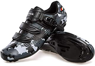 Cycling Shoes Road Bike Shoes Spin Shoes with Buckle