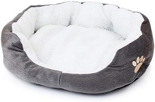 Mascota Perro Cama de Lana Perro doméstico sofá Suave Material Nido Cesta para Perros otoño e Invierno Suministros para Ga...