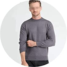 Winter Thick Warm Cashmere Wool Sweaters Classic Solid Color O-Neck Pullover