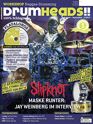 Workshop Reggae Drumming / Slipknot Jay Weinberg Interview / Playalong Rammstein Deutschland