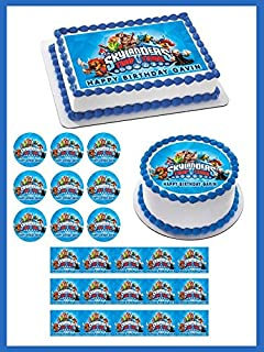 Skylanders Trap Team - Edible Cupcake Toppers - 1.8