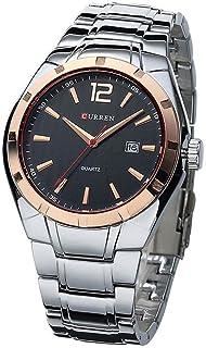 Luxury Brand Watches Men Full Steel Strap Analog Date Men's Quartz Watch Casual Watch Men Watches