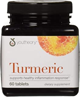 Youtheory Turmeric, 60 Count