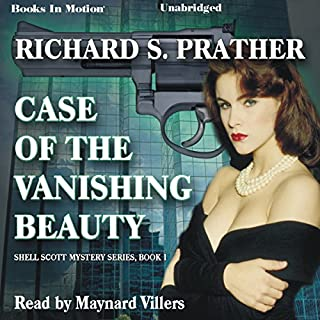 Case of the Vanishing Beauty audiobook cover art