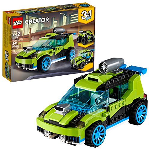 LEGO Creator 3in1 Rocket Rally Car 31074 Building Kit (241 Pieces)