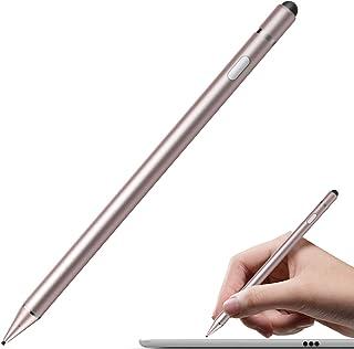 -SLZRT01Y 3pcs of Universal Touch Screen Stylus Pen Red + Black + Silver