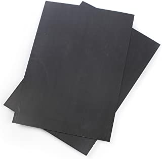 24 x 36 Black Corrugated Plastic Panels, 3/16-inch Thick, Great as Poster Backer - Set of 2