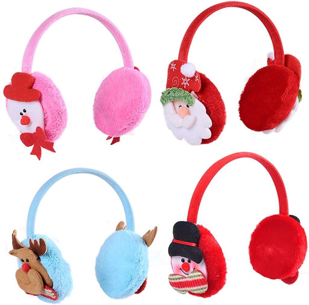 Licogel Winter Earmuff Cute Cartoon New mail order Muff W Festival Ear 4PCS Sale special price