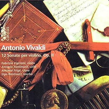 Vivaldi: 12 sonate per violino, Op. 2