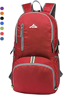 seenlast 30L Lightweight Packable Backpack Travel Hiking Backpack Water Resistant Durable Daypack for Men & Women Outdoor