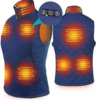 Heated Vest for Women, Size Adjustable 7.4V Electric Warm...