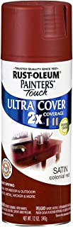Rust-Oleum 249082 Painter's Touch 2X Ultra Cover, 12 Oz, Colonial Red