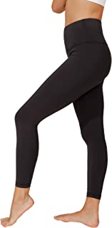"90 Degree By Reflex High Waist Tummy Control Cropped 25"" Leggings"