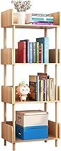 Staande Boekenkast, 4 Tier Boekenplank, Boeken Display Opbergrek, Organisator Planken, Opbergkast, Tijdschriften, Cd-opsla...