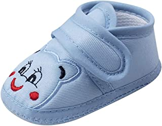 Baby Girl Boy Soft Sole Cartoon Anti-slip Shoes,NEEKEY Breathable Outdoor Walking Toddler Shoes 6-18months
