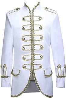 ROLECOS Mens Prince Charming Costume Royal Tuxedo Luxury Dress Blazer Pants