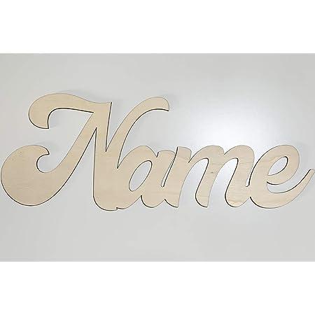 individuell Schriftzug Namensschild Kinderzimmer