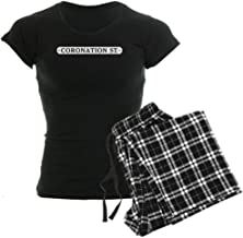 CafePress Coronation Street Logo Womens Novelty Cotton Pajama Set, Comfortable PJ Sleepwear