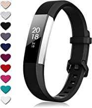 DigiHero For fitbit alta wrist straps,Replacement strape for Fitbit Alta/Fitbit Alta HR, Adjustable Sport Wristbands for Women/Men,Small/Large